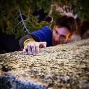Rock Climbing Photo: Green Hornet - V5