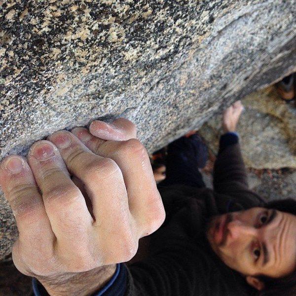 Rock Climbing Photo: Angry Beaver V8
