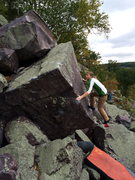 Rock Climbing Photo: Eyeing the lip