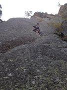 Rock Climbing Photo: Having fun in the crack.