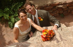 6/13/2003 Eldorado Canyon Wedding Photo