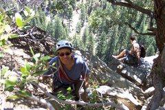 Rock Climbing Photo: 2007 Belen Munginella-Yosemite w/Randy