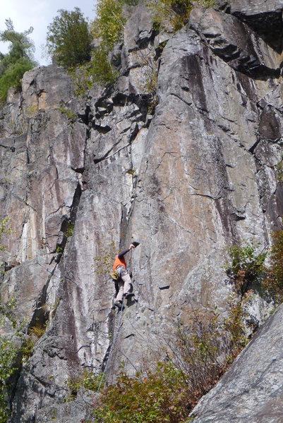 Rock Climbing Photo: Ben on Victoria's Secret