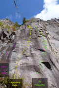 Rock Climbing Photo: Flabs of Steel Legendary Flabs 16 Plaquettes
