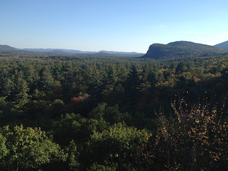 Looking toward Cathedral Ledge