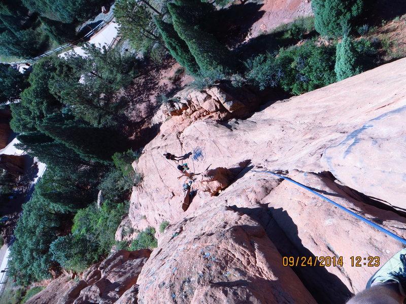Rock Climbing Photo: Top of Cowboy Boot Crack