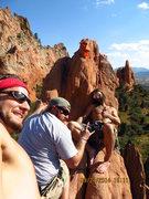 Rock Climbing Photo: R.H.C.C. up on Monties