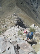 Rock Climbing Photo: The other option for descent is just to hike north...