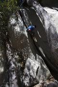 Rock Climbing Photo: Ridin the pony on the bad ass momma