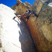 Rock Climbing Photo: Stem that gem, Kdog!