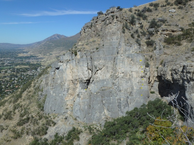 Rock Climbing Photo: nowhere in nowhere