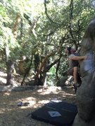 Rock Climbing Photo: Climbing Mrs. Magoo