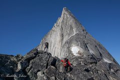 Rock Climbing Photo: Bugaboo on the North East Ridge.