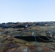 Rock Climbing Photo: Pete on Daylight Shavings.