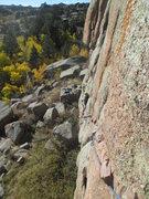 Rock Climbing Photo: Evan Martin following Heads of the Valley.