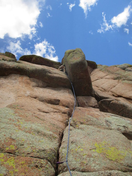 Rock Climbing Photo: Why is there not a photo of this route but of the ...
