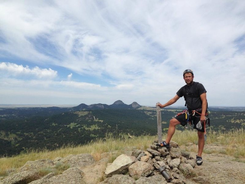 Rock Climbing Photo: Top of Devils Tower
