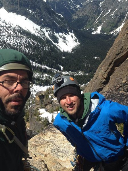 Beckley Route - 3rd pitch - Liberty Bell