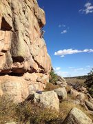 Rock Climbing Photo: Heads of the Valley.
