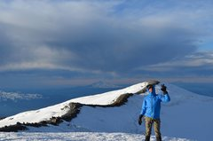 Mt. Rainier summit photo