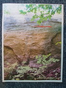 Rock Climbing Photo: START of Bonsai (we think) Flake is useless for Pr...