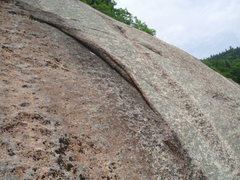 """Rock Climbing Photo: """"Flake Variation"""""""