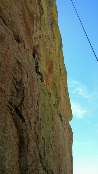 Rock Climbing Photo: Relaxing in the scoop.