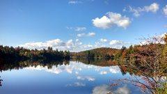 Rock Climbing Photo: Adirondacks in the Fall. Near Indian Lake, NY.