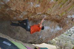 Rock Climbing Photo: Jonzalez sending the Msytery
