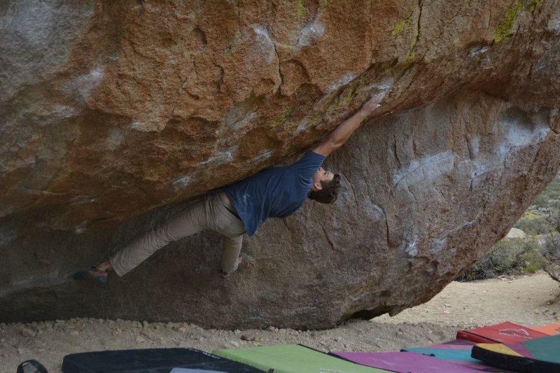 Rock Climbing Photo: Jonny on the Mystery