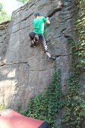 Rock Climbing Photo: Somewhere on the disease wall-