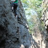 heading up to set up a TR on cub-scout wall-