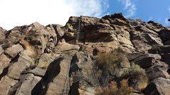 Rock Climbing Photo: Slasher