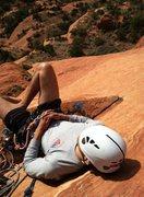 Rock Climbing Photo: Taking a break, enjoying the view atop the 3rd pit...