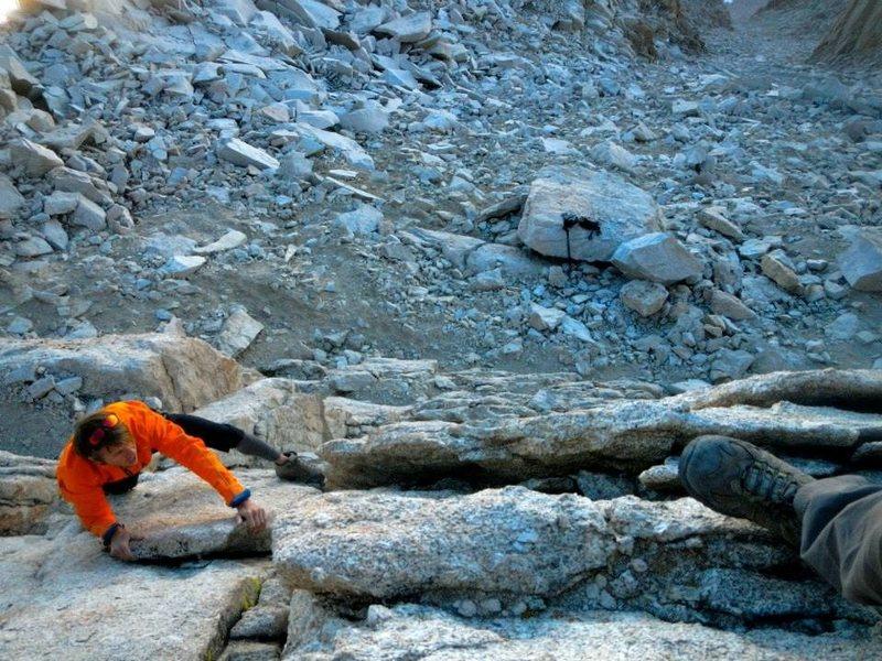 Rock Climbing Photo: Mt Muir