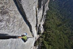 Rock Climbing Photo: Tom Wright starting the offwidth