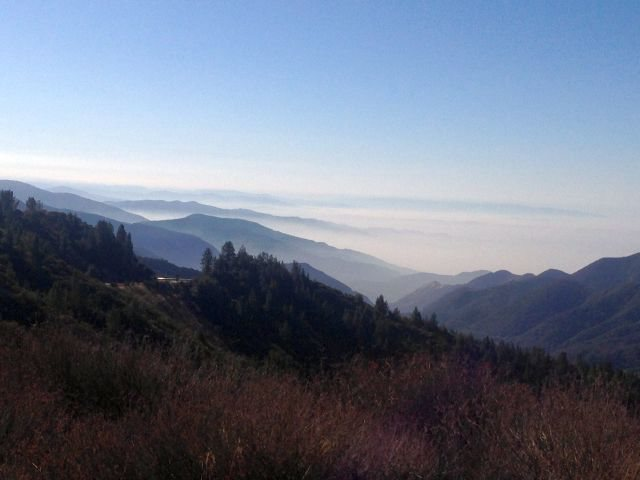 Hwy 330 view, San Bernardino Mountains