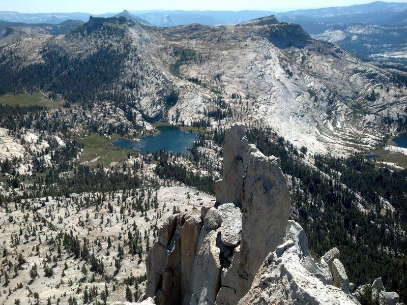 Cathedral Peak summit.