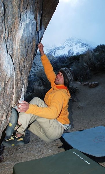 Rock Climbing Photo: classic winter buttermilks.