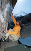 Rock Climbing Photo: classic winter buttermilks.