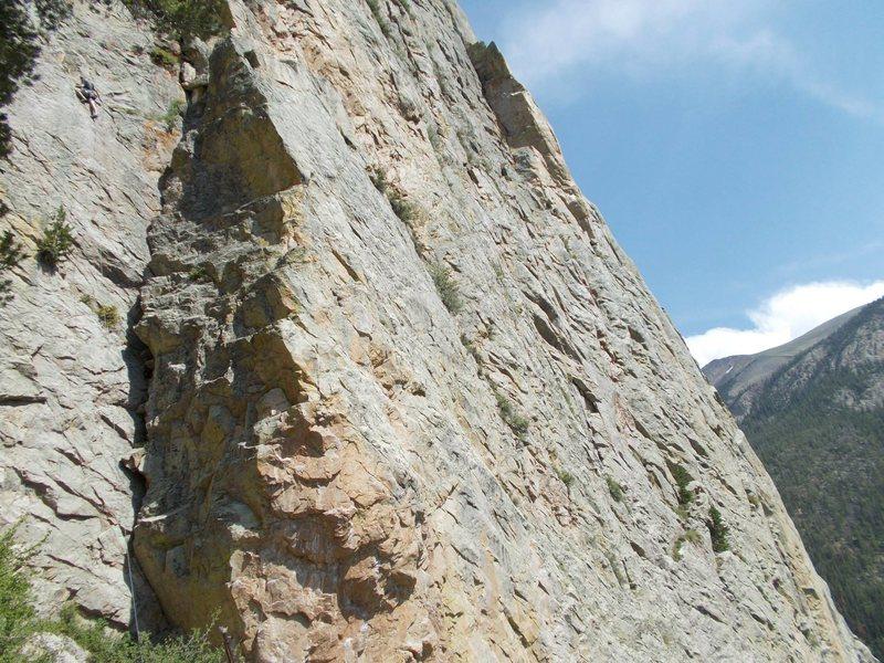 Rock Climbing Photo: Monitor Rock