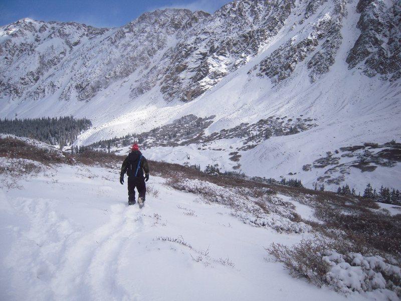 Rock Climbing Photo: snow!