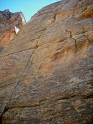Rock Climbing Photo: One of the nicest pitches in Sedona