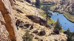 Rock Climbing Photo: Yvonne on Pop Goes the Nubbin