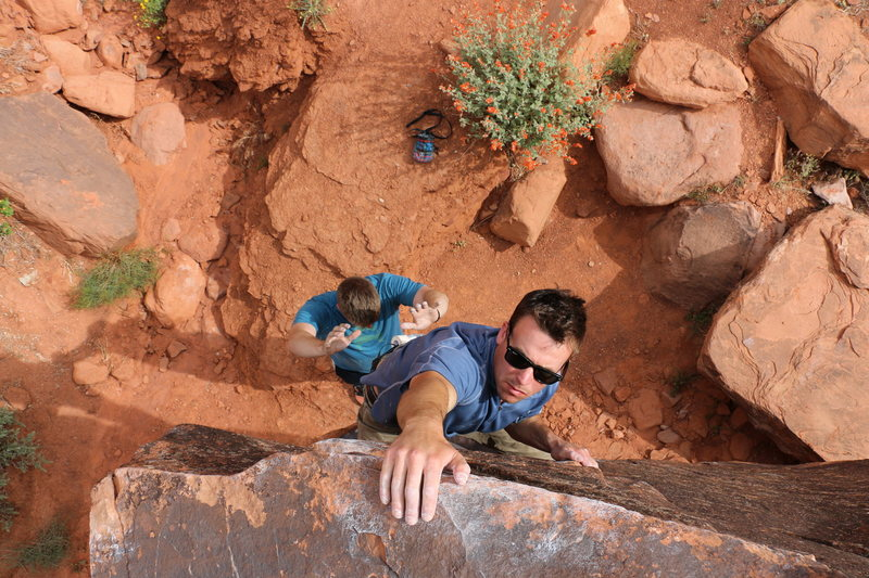 Bouldering in Moab