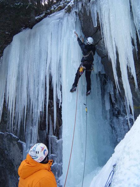 Rock Climbing Photo: Stephen Scoff and Mark Hinen