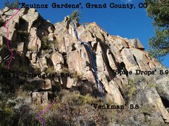 Rock Climbing Photo: Only about 40% of this wall in this photo.. There ...