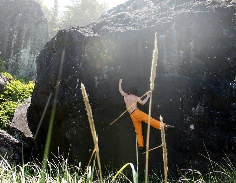 Rock Climbing Photo: Humboldt Bouldering