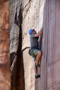 Rock Climbing Photo: Mike Santoro on Short, Cupped Hands.