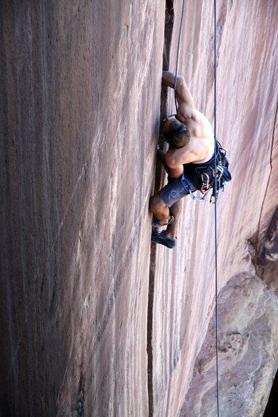 Rock Climbing Photo: J. Weingast rockin' Short, Cupped Hands.